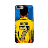 Official Chennai Super Kings Dhoni Yellove iPhone 7 Plus 3D Case