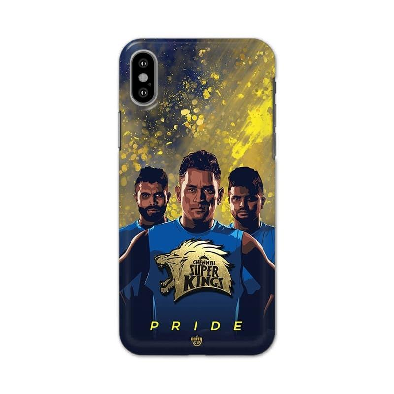 Official Real 3D Chennai Super Kings Pride Case