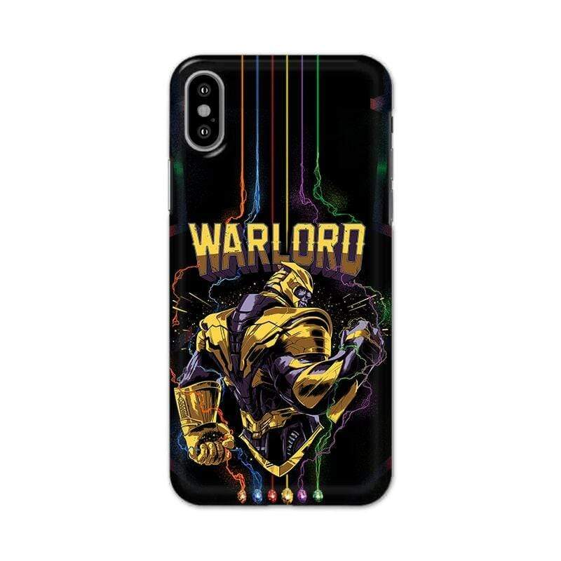 Apple Phone Case Default Official Marvel Avengers Endgame Warloard iPhone XS Max Hard Case