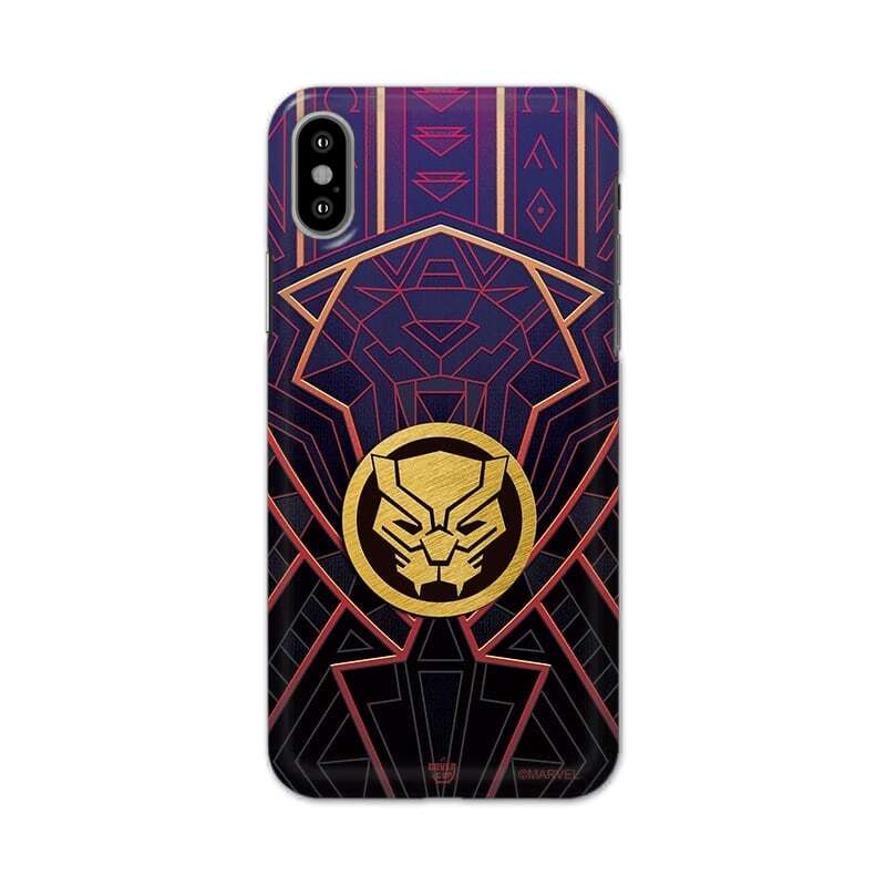 Official Real 3D Black Panther Case