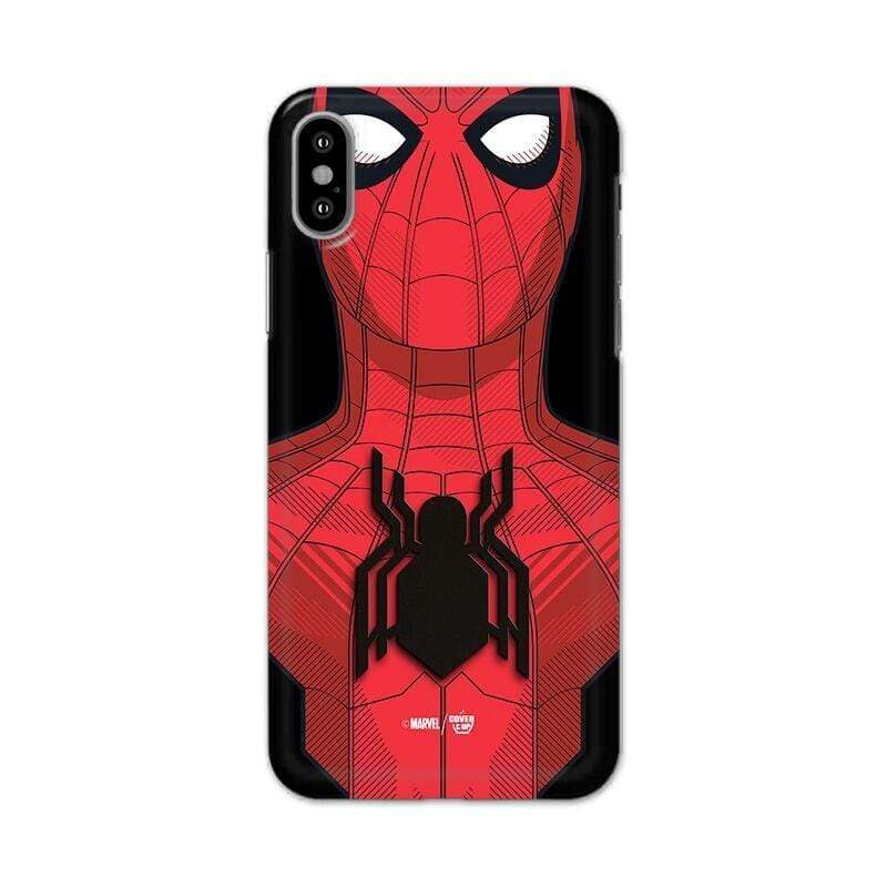 Official Real 3D Marvel Spider-Man Web Tech Case