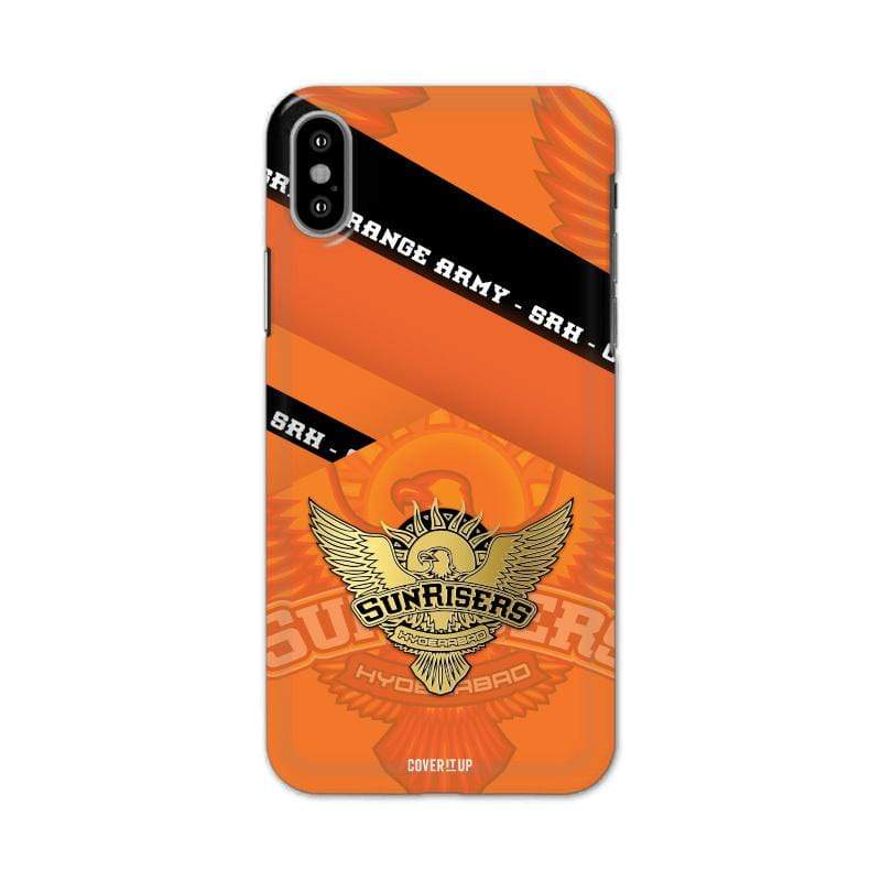 Official Sunrisers Hyderabad Orange Army Real 3D Case