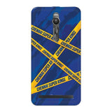 Asus Phone Case Default Official Chennai Super Kings Cross Pattern Zenfone 2 Hard Case