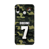 Asus Phone Case Default Official Chennai Super Kings Dhoni Camouflage Zenfone Max Pro M1 3D Case