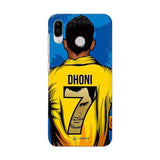 Asus Phone Case Default Official Chennai Super Kings Dhoni Yellove Zenfone Max Pro M1 3D Case