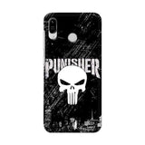 Asus Phone Case Default Official Marvel Punisher Zenfone Max Pro M1 3D Case