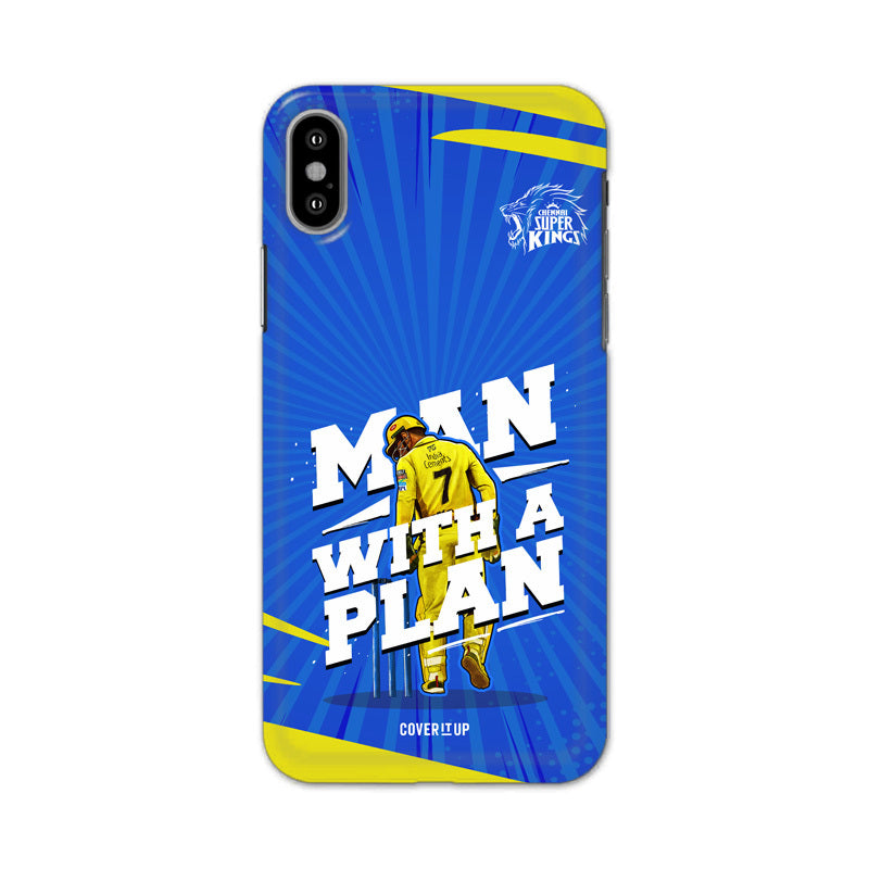 Official Chennai Super Kings Man with a plan hard Case