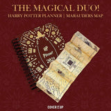 Harry Potter's The Magical Duo Combo || Harry Potter Planner & Marauder's Map