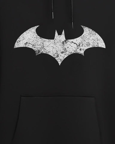Cover It Up Hoodie Official Batman Dark Knight Logo Glow in Dark Hoodie