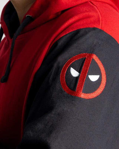Cover It Up Hoodie Official Deadpool The Red Suit Hoodie