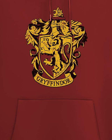 Cover It Up Hoodie Official Harry Potter Gryffindor Crest Hoodie