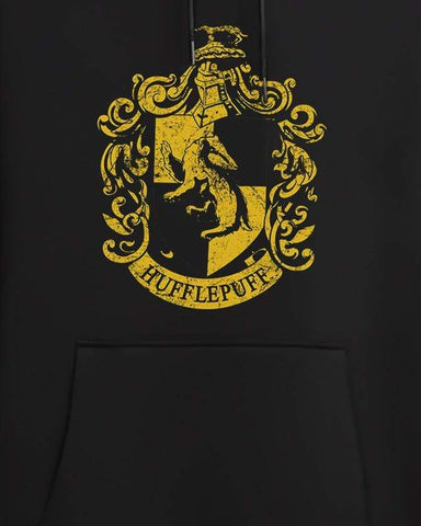 Cover It Up Hoodie Official Harry Potter Hufflepuff Crest Hoodie