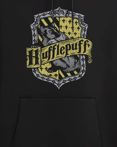 Cover It Up Hoodie Official Harry Potter Hufflepuff Shield Hoodie