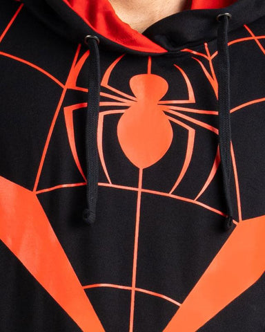 Cover It Up Hoodie Official Miles Morales Spider-Verse Hoodie