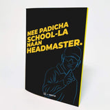 Official Chennai Super Kings CSK Headmaster Flip Note book