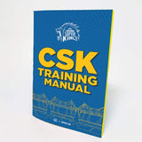 Official Chennai Super Kings CSK Training Manual Flip Note book