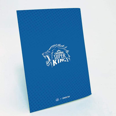 Cover It Up Stationary Official Chennai Super Kings CSK Training Manual Flip Note book