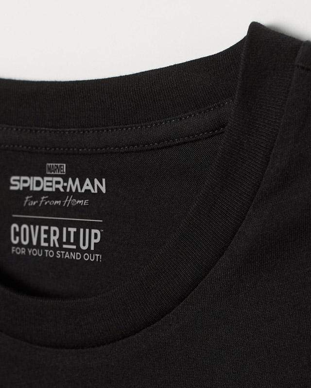 Cover It Up T-Shirt Official Marvel Spider-Man Far From Home Wanna Hang T-Shirt