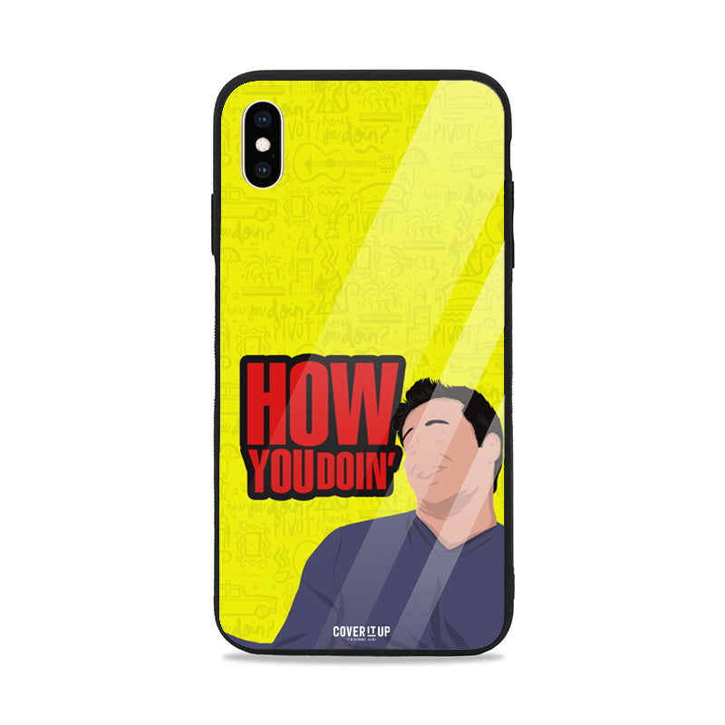 Official Friends How You Doin' Joey Glass Case