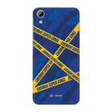 HTC Phone Case Default Official Chennai Super Kings Cross Pattern Desire 626 Hard Case