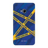 HTC Phone Case Default Official Chennai Super Kings Cross Pattern One M7 Hard Case