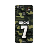 Huawei Phone Case Default Official Chennai Super Kings Dhoni Camouflage Honor 7X 3D Case