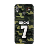 Huawei Phone Case Default Official Chennai Super Kings Dhoni Camouflage Honor 8X 3D Case