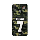 Official Chennai Super Kings Dhoni Camouflage Nova 3i 3D Case