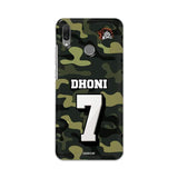 Official Chennai Super Kings Dhoni Camouflage Y9 2019 3D Case