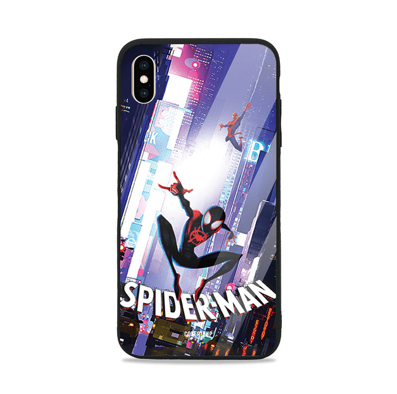 Official Marvel Spider-Man Into The Spider Verse Glass Case