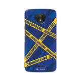 Motorola Phone Case Default Official Chennai Super Kings Cross Pattern Moto C Hard Case