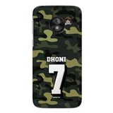 Official Chennai Super Kings Dhoni Camouflage Moto E5 Plus 3D Case