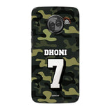 Motorola Phone Case Default Official Chennai Super Kings Dhoni Camouflage Moto X4 3D Case