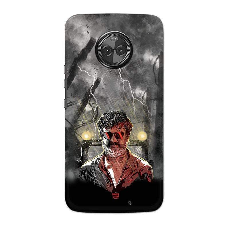 Motorola Phone Case Default Official Kaala Rajinikanth Thunder Fighter Moto X4 Hard Case