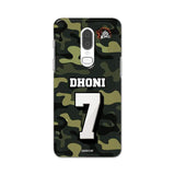 Official Chennai Super Kings Dhoni Camouflage OnePlus 6 3D Case