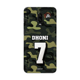 OnePlus Phone Case Default Official Chennai Super Kings Dhoni Camouflage OnePlus 6T 3D Case