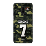 Official Chennai Super Kings Dhoni Camouflage OnePlus 7 3D Case