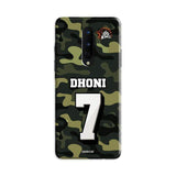 Official Chennai Super Kings Dhoni Camouflage OnePlus 8 3D Case