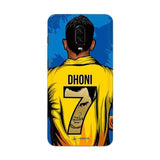 OnePlus Phone Case Default Official Chennai Super Kings Dhoni Yellove OnePlus 6T 3D Case