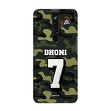 Oppo Phone Case Default Official Chennai Super Kings Dhoni Camouflage F11 Pro 3D Case