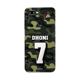 Oppo Phone Case Default Official Chennai Super Kings Dhoni Camouflage F9 3D Case