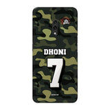 Official Chennai Super Kings Dhoni Camouflage Reno 3D Case