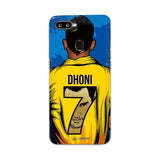 Oppo Phone Case Default Official Chennai Super Kings Dhoni Yellove F9 3D Case