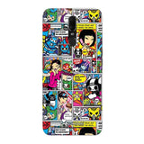 Official tokidoki Comic Pattern F11 Hard Case