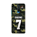 Poco Phone Case Default Official Chennai Super Kings Dhoni Camouflage Poco X2 3D Case