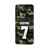 Realme Phone Case Default Official Chennai Super Kings Dhoni Camouflage Realme 5 Pro 3D Case