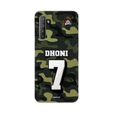 Realme Phone Case Default Official Chennai Super Kings Dhoni Camouflage Realme XT 3D Case