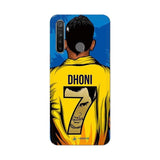 Realme Phone Case Default Official Chennai Super Kings Dhoni Yellove Realme 5 Pro 3D Case