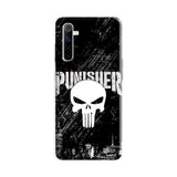 Official Marvel Punisher Realme 6 3D Case