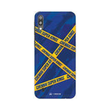 Samsung Phone Case Default Official Chennai Super Kings Cross Pattern Galaxy M10 Hard Case